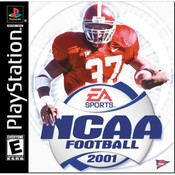 NCAA Football 2001 Video Game For Sony PS1