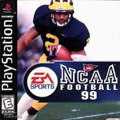 NCAA Football 99 - PS1 Game