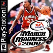 NCAA MARCH MADNESS 2000 - PS1 Game