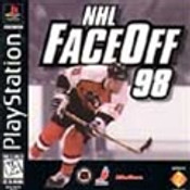 NHL FACEOFF 98 - PS1 Game