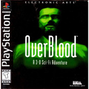 Overblood Video Game For Sony PS1