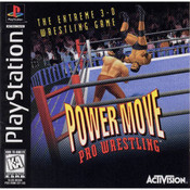 Power move Pro Wrestling - PS1 Game