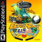 Pro Pinball Big Race USA - PS1 Game