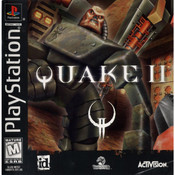 Quake II Video Game For Sony PS1