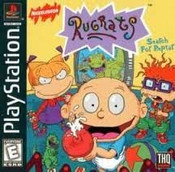 Rugrats Search For Reptar - PS1 Game