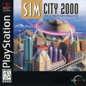 SIM City 2000 - PS1 Game