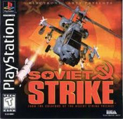 Soviet Strike - PS1 Game