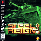 Steel Reign Video Game For Sony PS1