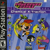 Powerpuff Girls Chemical X Video Game For Sony PS1