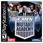 X Men Mutant Academy - PS1 Game