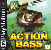 Action Bass Fishing - PS1 Game