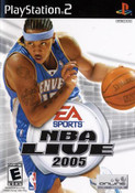 NBA Live 2005 - PS2 Game