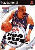 NBA Live 2003 - PS2 Game