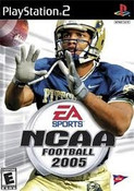 NCAA Football 2005 - PS2 Game