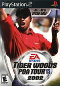 Tiger Woods PGA Tour 2002 - PS2 Game