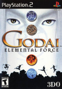 Godai Elemental Force - PS2 Game