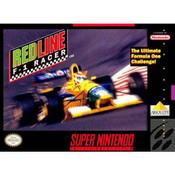 Redline: F1 Racer Super Nintendo SNES used video game for sale online.
