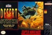Desert Strike Return to the Gulf- SNES Game