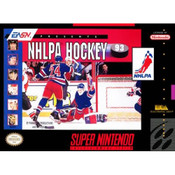 NHLPA Hockey 93 - SNES Game