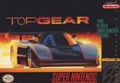 Top Gear - SNES Game