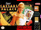 Super Caesars Palace - SNES Box Cover Art