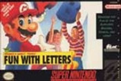 Mario's Early Years Fun With Letters - SNES Game