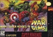 Marvel Super Heroes in War of the Gems - SNES Game