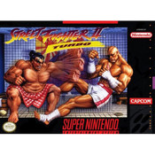 Street Fighter II Turbo - SNES box front