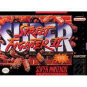 Super Street Fighter II - SNES Box Front