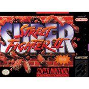 Super Street Fighter II - SNES Box Front