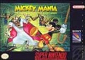 Mickey Mania - SNES Game