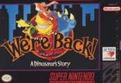 We're Back A Dinosaur's Story - SNES Game