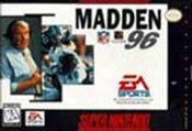 Madden NFL '96 - SNES Game