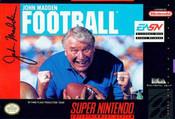 John Madden NFL Football 1992 - SNES Game