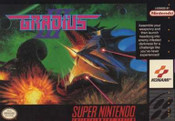 Gradius III - SNES Game