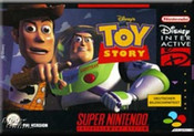 Toy Story - SNES Box Cover Art