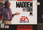 Madden NFL '98 - SNES Game