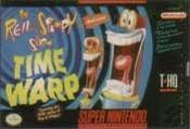 Ren & Stimpy Show:Time Warp, The - SNES Game
