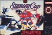NHL Stanley Cup Hockey - SNES Game