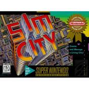 Sim City - SNES Game