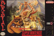 Brutal Paws of Fury - SNES Game