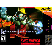 Killer Instinct - SNES Box Front