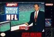 ESPN Sunday Night NFL - SNES Game