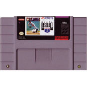 MLBPA Baseball - SNES Game