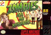 Zombies Ate My Neighbors - SNES Game