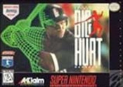 Frank Thomas Big Hurt Baseball - SNES Game