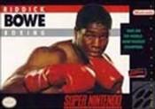 Riddick Bowe Boxing - SNES Game