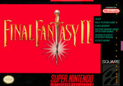Final Fantasy II - SNES Box Cover Art