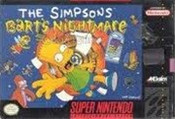 Simpsons Barts Nightmare, The - SNES Game