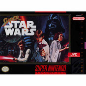Super Star Wars Super Nintendo SNES game for sale, box pic.